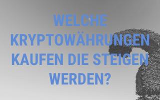 Welche Kryptowährungen kaufen die steigen werden?